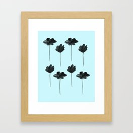Waterflowers Framed Art Print
