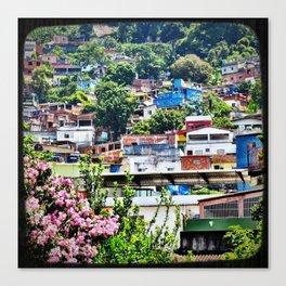 Favela Landscape Canvas Print