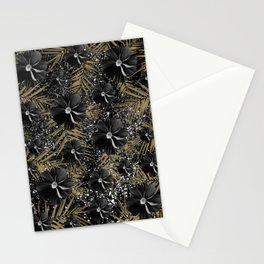 Tropical Diamond Flowers #2 #shiny #chic #floral #palms #decor #art #society6 Stationery Cards