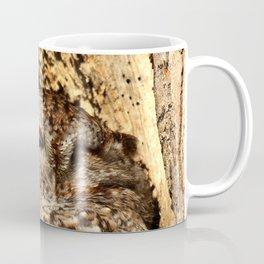 One eye open Coffee Mug