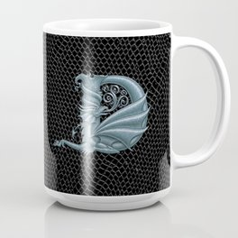 Dragon Letter D, from Dracoserific, a font full of Dragons. Coffee Mug