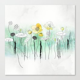 Watercress Pond Canvas Print