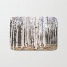 Trees of Reason - Birch Forest Bath Mat