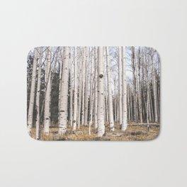 Trees of Reason - Birch Forest Bath Mat