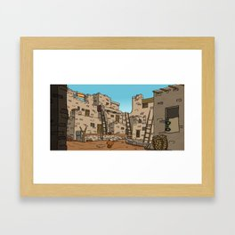 Hopi Village Framed Art Print