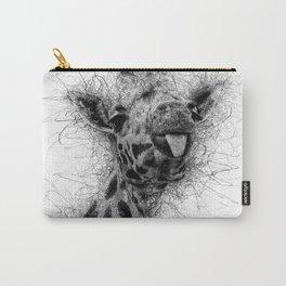 Giraffe line Carry-All Pouch