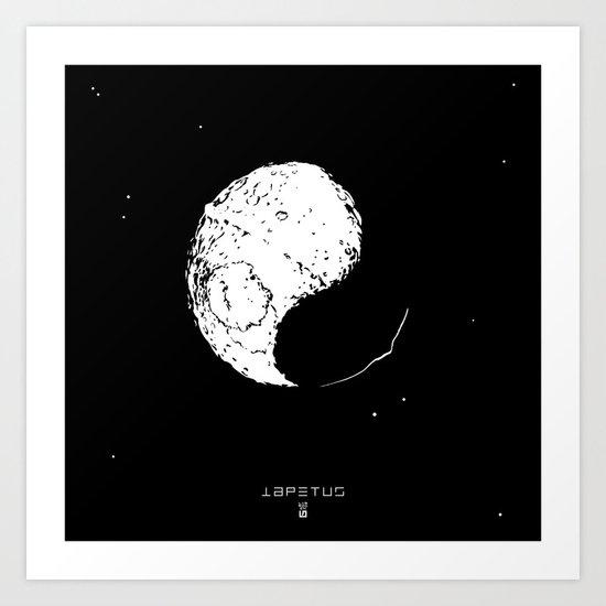IAPETUS Art Print