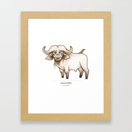 African Buffalo Framed Art Print
