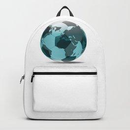 Football World Globe Backpack