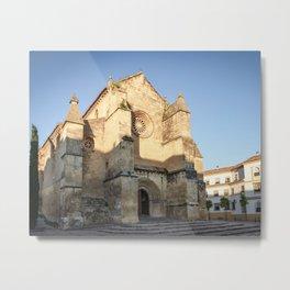Golden San Miguel (Cordoba) Metal Print