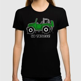 Jeep - Go topless (Green) T-shirt