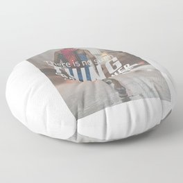 No Bad Weather Just Soft People Floor Pillow