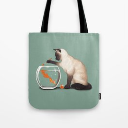 Goldfish need friend Tote Bag