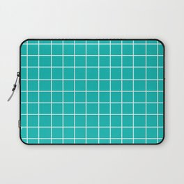 Grid (White/Eggshell Blue) Laptop Sleeve