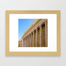 The Pantheon in Rome Italy Framed Art Print