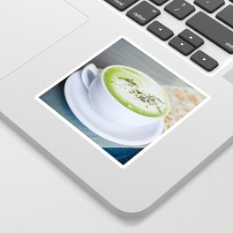 Tea Time With Matcha Sticker