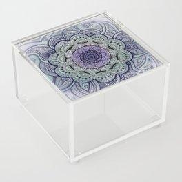 Mandala Violet Acrylic Box