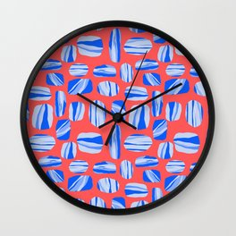 Piedras Wall Clock