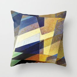Marble Mosaic Throw Pillow