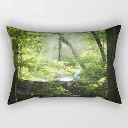 Late Summer Secrets Rectangular Pillow