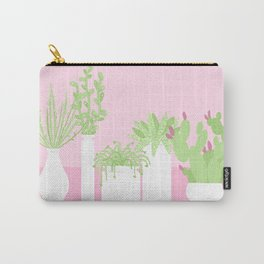 Pastel Succulent Scenery Carry-All Pouch