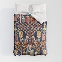 Luri Bakhtiari Kelleh Central Persian Rug Print Comforters