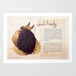 Real Monsters- Social Anxiety Art Print