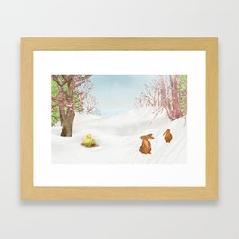 Amur adonis | Miharu Shirahata Framed Art Print