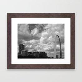 Clouds of St. Louis Framed Art Print