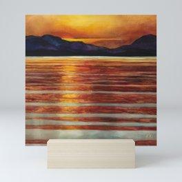 Salt Spring Evening Mini Art Print