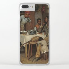 Richard Norris Brooke A Pastoral Visit 1881 Painting Clear iPhone Case