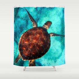Marine sea fish animal Shower Curtain