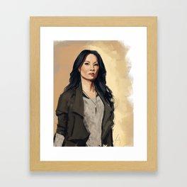 Joan Watson Framed Art Print