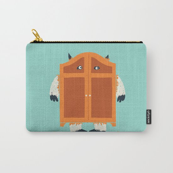 Monster in the closet Carry-All Pouch