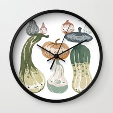 Courges Wall Clock