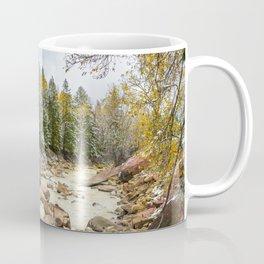 Uncompahgre River in Fall Coffee Mug