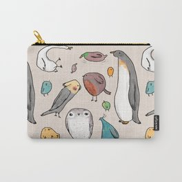 Lump Birds Carry-All Pouch