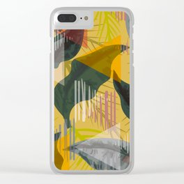 pattern33 Clear iPhone Case