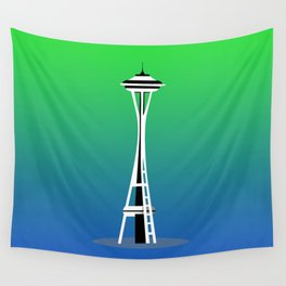 Seattle City Wall Tapestry
