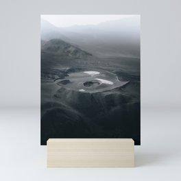Volcanic Lands Mini Art Print