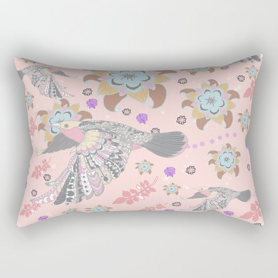 Happy flying Rectangular Pillow