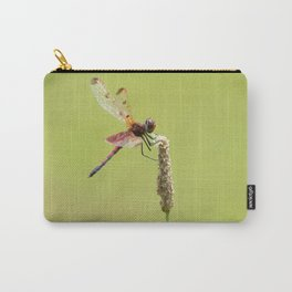 Blood Pennant Dragon Fly Carry-All Pouch