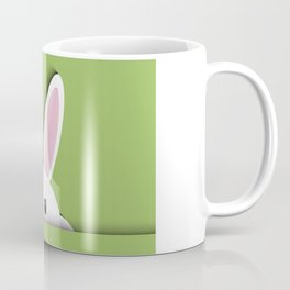 Easter background with cute bunny Coffee Mug