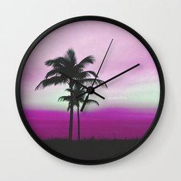 Lauderdale Sunset Wall Clock