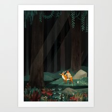 Princess Mononoke tribute Art Print
