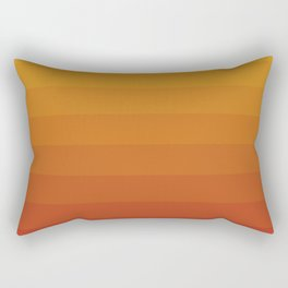 Gradient, Yellow Red Rectangular Pillow