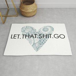 Let it go. Rug