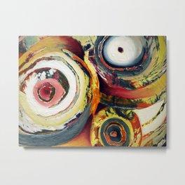 Yard Sale (Colorful Circles) Metal Print