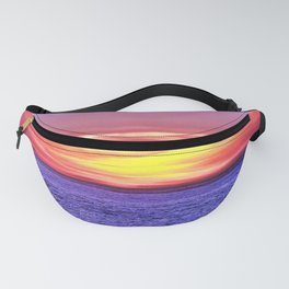 Saturated Sunset Delight Fanny Pack