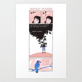 corvids Art Print